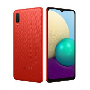Samsung A02 Rojo