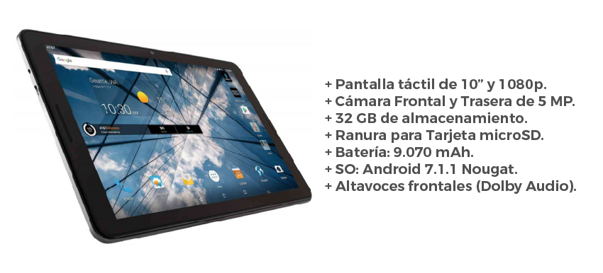 Tablet ZTE K92