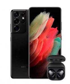 Samsung S21 Ultra 256 GB color Negro y Silver